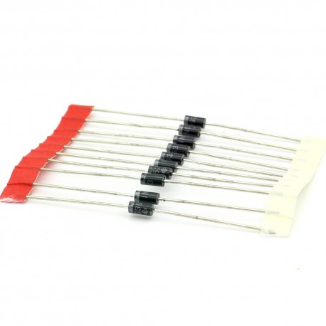 10x Diode redressement 1N5393 - 1.5A - 200V - DO-41