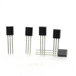 5x Triac MAC97A8 97A8 bi-directional 600V 0.6A - To-92 - PhilipS