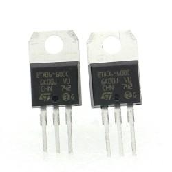 2x Triac BTA06-600C BTA06-600 - 600V 6A - STMicroelectronics - 129tri006