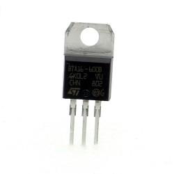 Triac BTA16-600BRG - BTA16-600B - 600V 16A - TO-220 - ST - 129tri001
