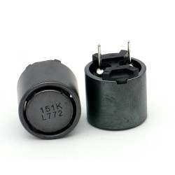 Power Inductance 150uH ±10% 2.4A DCR 0.091 Ohm RADIAL - SUMIDA
