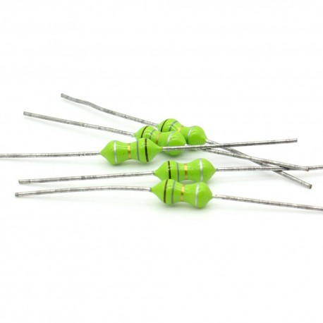5x Inductance 1.8uH ±10% Axial - TOP-VIEW COILS