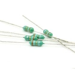 5x Inductance 3.9uH ±20% Axial - TOP-VIEW COILS - 131ind017