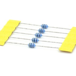 5x Inductance 1uH ±10% Axial - TOP-VIEW COILS