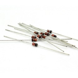 10x Zener Diode 1N4752A - 1w - 33v - DO-41 - 136diod062