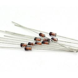 10x Zener Diode 1N4750A - 1w - 27v - DO-41 - 136diod060