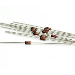 10x Zener Diode 1N4755A - 1w - 43v - DO-41 - 136diod065
