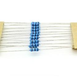 20x Résistances métal ¼W - 0.25w - 1% - 3.9ohm - 3R9 - 139res227