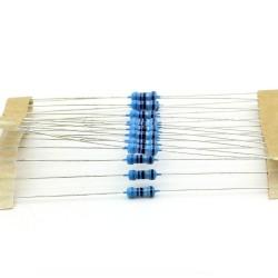 20x Résistances métal ¼W - 0.25w - 1% - 8.2ohm - 8R2 - 140res233