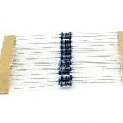 20x Résistances métal ¼W - 0.25w - 1% - 12ohm - 12R - 140res234