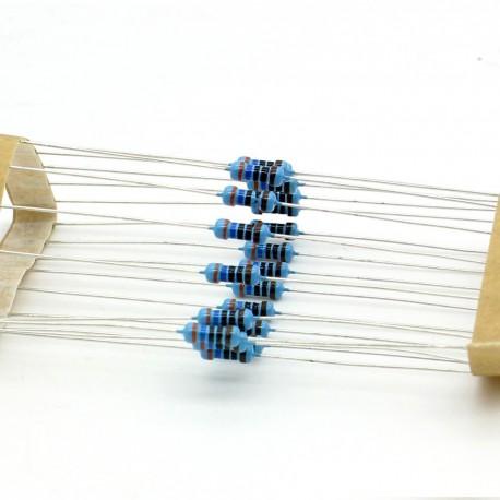 20x Résistances métal ¼W - 0.25w - 1% - 360ohm - 360R