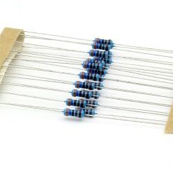 20x Résistances métal ¼W - 0.25w - 1% - 3.6kohm - 3.6k ohm - 144res270