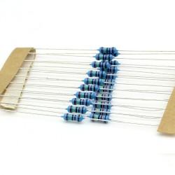 20x Résistances métal ¼W - 0.25w - 1% - 24kohm - 24k ohm - 145res281