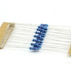 20x Résistances métal ¼W - 0.25w - 1% - 27kohm - 27k ohm - 145res282