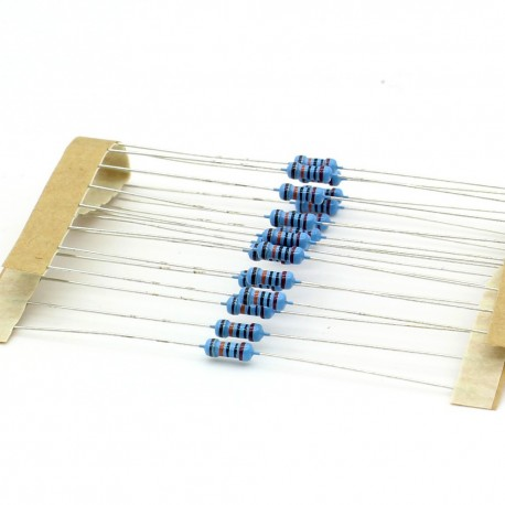 20x Résistances métal ¼W - 0.25w - 1% - 200kohm - 200k ohm