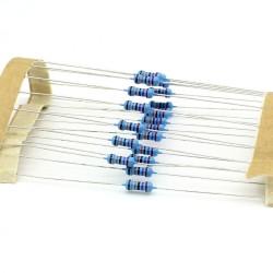 20x Résistances métal ¼W - 0.25w - 1% - 270kohm - 270k ohm - 147res296