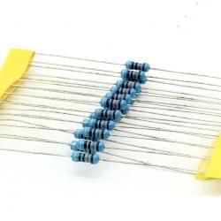 20x Résistances métal ¼W - 0.25w - 1% - 910kohm - 910k ohm - 148res305