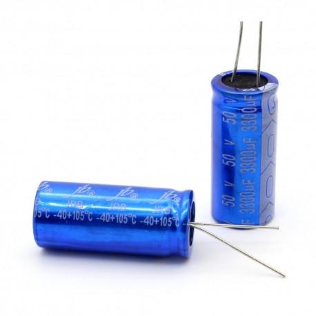 Condensateur electrolitique JB Capacitors radial 3300uF 50V 18x40mm