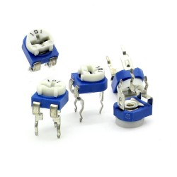 Trimmer 101 - 100 ohm - 0.1W Resistance Variable Rm-65