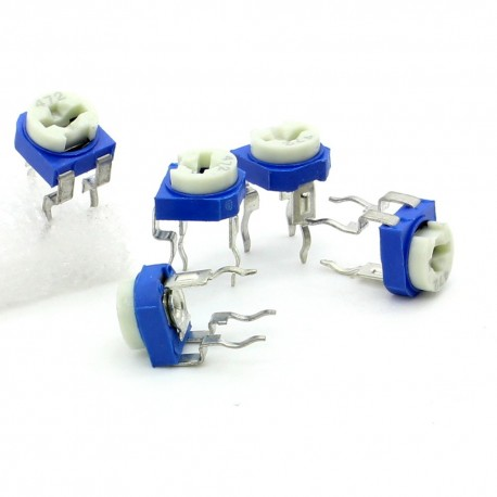 5x Trimmer 472 - 4.7K ohm - 0.1W Resistance Variable Rm-65