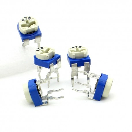 5x Trimmer 102-1K ohm 0.1W Resistance Variable Rm-65-196pot042
