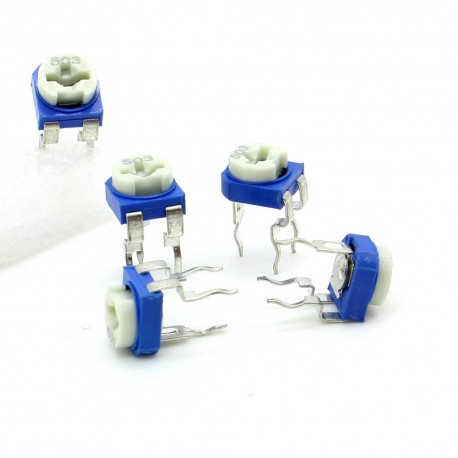 5x Trimmer 503 - 50K ohm - 0.1W Resistance Variable Rm-65