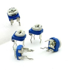 5x Trimmer 474 - 470K ohm - 0.1W Resistance Variable Rm-65 - 198pot058
