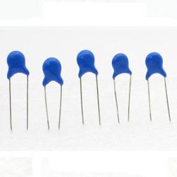 5x Condensateur ceramique 30pf - 3kv - 3000v Haute Tension - 199con429