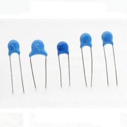 5x Condensateur ceramique 22pf - 3kv - 3000v Haute Tension - 199con430