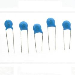 5x Condensateur ceramique 20pf - 3kv - 3000v Haute Tension - 199con431