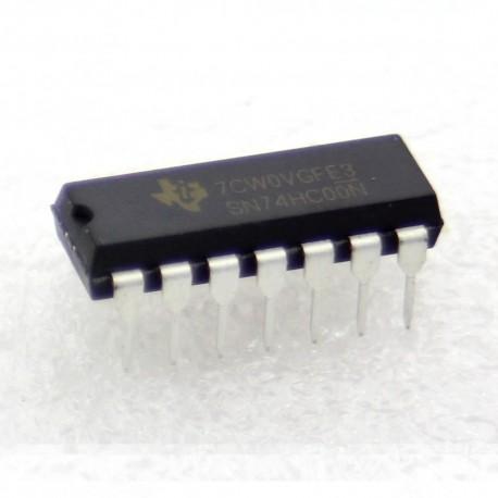 SN74HC00N - 74HC00 - Texas instrument - 2 input NAND - 205IC040