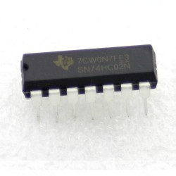 SN74HC02N - 74HC02 - Texas instrument - Quad - 2 input NOR Gate - 205IC041