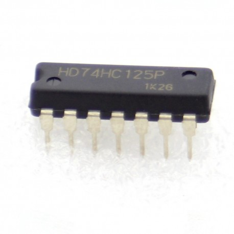 HD74HC125P - 74HC125 - Renesas - Buffers & Line Drivers - 205IC044