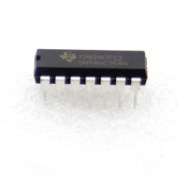 SN74HC164N - 74HC164 - Texas instrument 8-bit Serial Shift Register