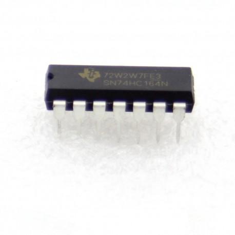 SN74HC164N - 74HC164 - Texas instrument 8-bit Serial Shift Register