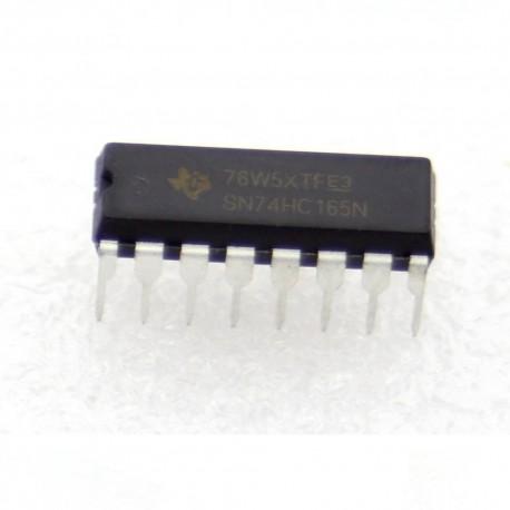 SN74HC165N - 74HC165 - Texas instrument 8-bit Counter Shift Registers