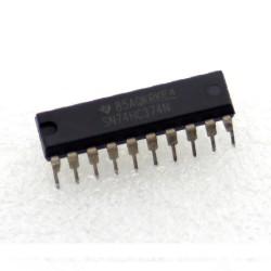 SN74HC374N - 74HC374 - Texas instrument - CMOS - D-Type Flip-Flop - 206IC050