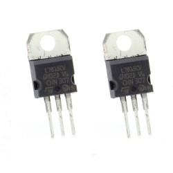 2x L7815CV - L7815 +15V 1.5A - Régulateur Tension - ST - T0-220 - 207IC006