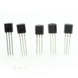 5x L78L05ACZ - L78L05 78L05 +5v 100mA - Regulateur - ST - T0-92 - 208IC011