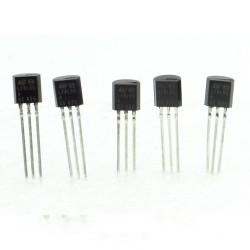 5x L78L05ACZ - L78L05 78L05 +5v 100mA - Regulateur - ST - T0-92 - 208IC011