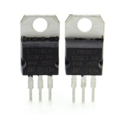 2x L7918CV - L7918 -18V 1.5A - Régulateur Tension - ST - 209IC021