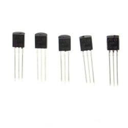 5x LM317LZ LM317 1.2V à 37V - 0.1A Regulateur T0-92 - ST - 209IC023