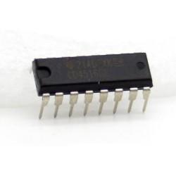 CD4516BE CMOS Compteur décompteur binaire DIP-16 Texas Instrument