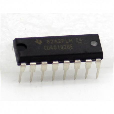 CD40192BE CMOS Presettable UpDn Counter DIP-16 Texas Instrument
