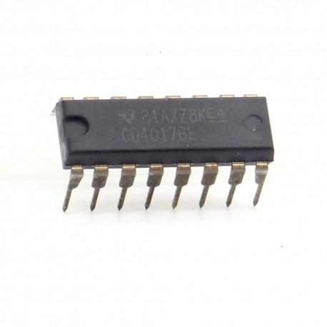 CD4017BE CD4017 CMOS Decade Counter divider