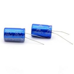2x Condensateur JB Capacitors 470uF 50V 13x21mm - 204con440