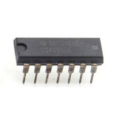 Circuit intégré CMOS CD4093 logique DIP14- Texas 211ic065