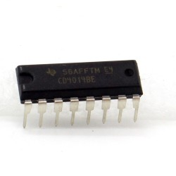 Circuit intégré CD4014BE Static shift Register DIP16 Texas Instrument 212ic073