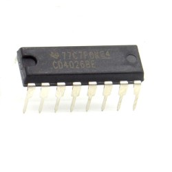 Circuit intégré CD4026BE Counter Shift Registers DIP16 Texas 212ic076