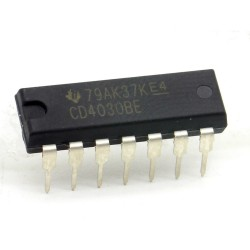Circuit intégré CD4030BE Quad Exclusive OR Gate DIP-14 Texas 213ic084